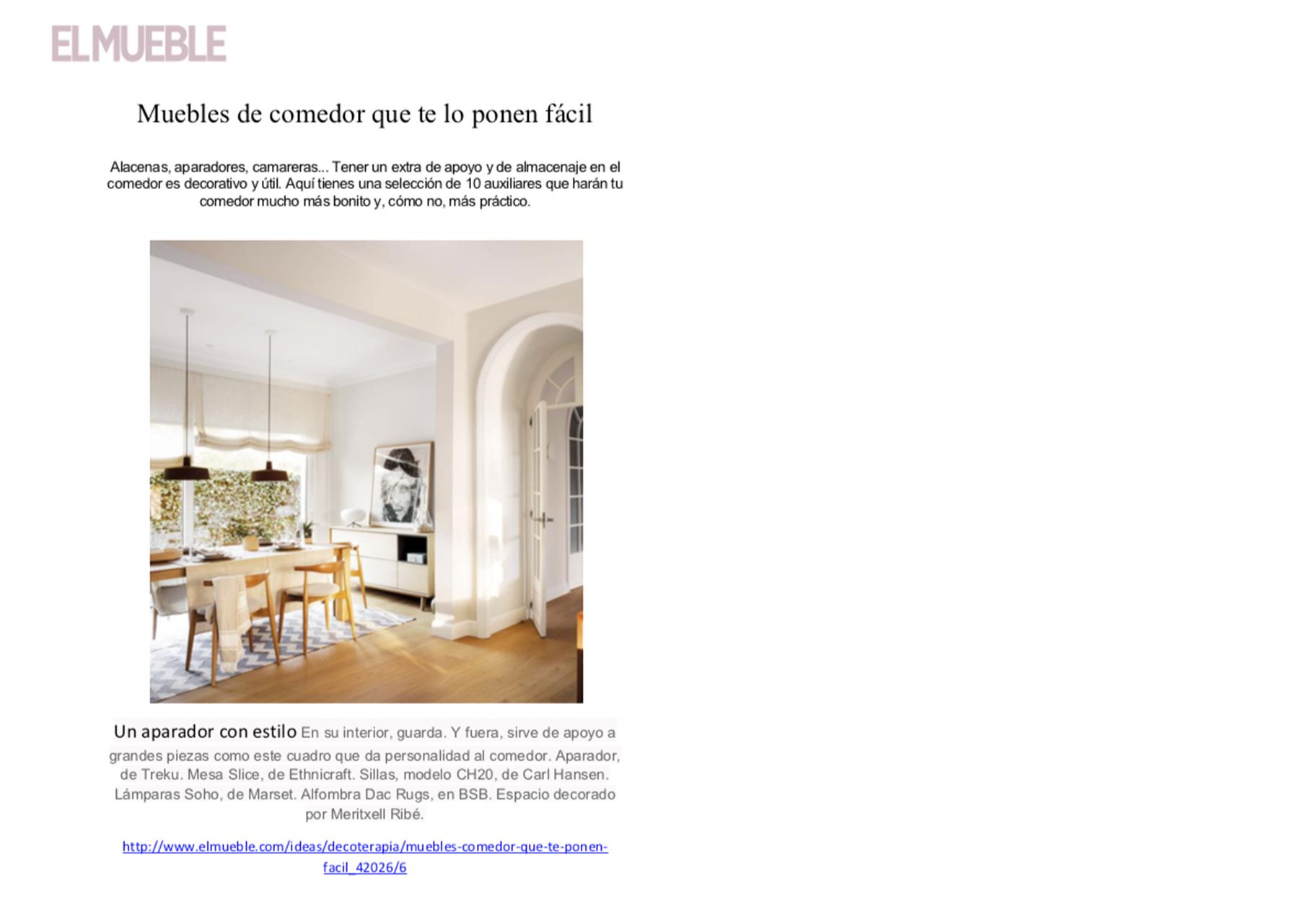 DAC Rugs en Revista El Mueble